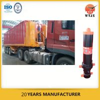 front-end hydraulic cylinders for vehicle
