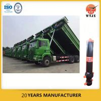 4 stage hydraulic cylinder for dump truck