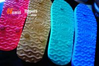 Logo Rubber Slippers Made in Thailand Emboseed Slipper