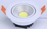 5W 7W White Round Led Spot Light