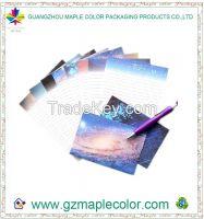 2015 bright sky art paper envelope