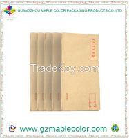 2015 custom logo kraft paper envelopes