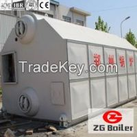 water tube biomass fired boiler for sale