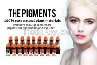 Lushcolor Permanent Makeup Pigment for Eybrow Tattoo Threading OEM Available