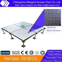 600mm Conductive PVC Steel Access Floor