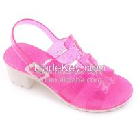 RMC Low Wedge Jelly Shoes For Girls