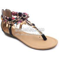 RMC Toe-Post Adjustable Buckle Gladiator Thong Sandals