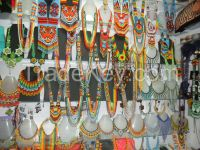 NECKLACES GLASS BEADS-SEEDS BY INDIGENAS EMBERA CHAMI-ASSORTED DESIGNS