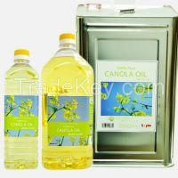 BONA Cooking Oil Brand / Refined Bleach Deodorised Canola Oil