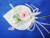 brooch flower, silk flower, hair flower