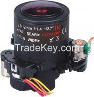 2MP&3MP HD CCTV Lens 2.8-12mm YT2812DB.ICR-JZ