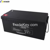 Valve Regulated Lead Acid /Deep Cycle AGM Batteries 12V200ah