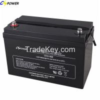 Deep Cycle AGM Battery 12V100ah 3years Free for Replacement