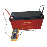 Supplier 12V100ah Rechargeable Deep Cycle Gel Battery for Solar