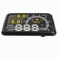 Fast Shipping Car HUD Head Up Display System OBD II Speed Monitor Head up HUD Display hud speed display