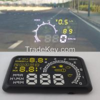 Fast Shipping Car HUD Head Up Display System OBD II Speed Monitor Head up HUD Display hud speed display