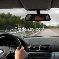 Car HUD Head Up Display System OBD II Speed Monitor Head up HUD Display hud speed display