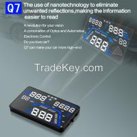 2016 5.5 Inch Multi-function New Q7 GPS Car HUD Head Up Display System OBD2