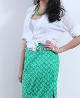 Handwoven Western Skirt