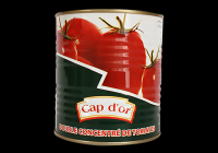 Canned tomato sauce paste CAP D'OR