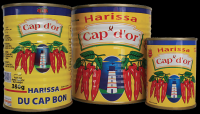 Canned Harissa Sauce CAP D'OR