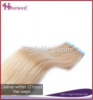 Top Quality And Long Beauty Hair Remy Hair Weave 613 Blonde Hair Weave
