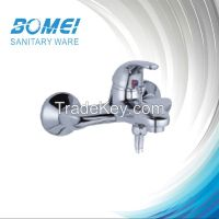 Traditional Bath Mixer: Double Handle; Brass Body; with Divisor