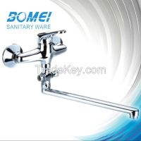 Popular in Russia  Brass Wall-Mounted Kitchen Faucet