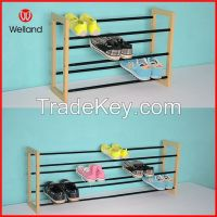 Expandable metal shoe rack simple designs