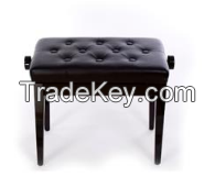 piano bench with solid wood