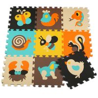kid soft eductional toys eva playing crowling mat with cute patterns