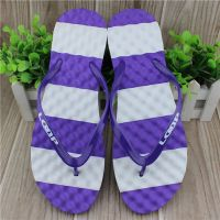 Fasion cute design nude beach slippers for girls with massager sole