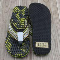 man slipper with printed eva sole