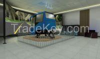 6 DOF Motion Driving Simulator - Bus