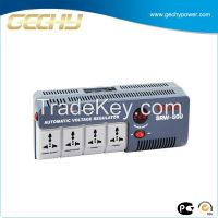 Portable Relay Type Voltage Stabilizer UK  Socket SRW-500-D