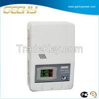 Wall mounted servo motor control voltage stabilizer SRWII-4000-L