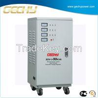 Three Phase Servo Stabilizer Regulator SVC-90KVA for Medical equipment