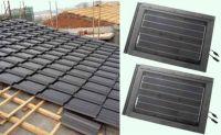 Solar roof shingles / Solar tile / PV tile / Solar roof tiles