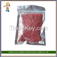 Hot sale dried wolfberry of 180 grains per 50 gram