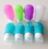 Silicone Mini Travel Tube Travel Size Squeeze Bottle
