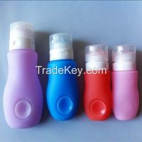 Portable Squeeze Food Grade Silicone Bathroom Travel Kit