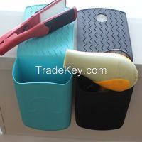 Hot Item Silicone Flat Iron Holder/Hair Dryer Holder