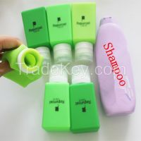 Leak-proof Silicone Size Bottles or Travel Sizes of Hair Gel