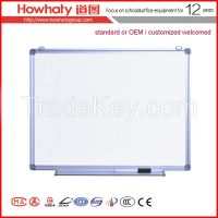 portable whiteboard with ceramic surface