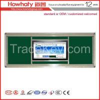 sliding electromagnic interactive whiteboard