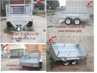 2015 Hot dipped galvanized tandem cage trailer TC85