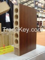 Hollow particle board for door core