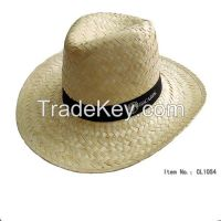 cheap promotional straw cowboy hats with custom design logo