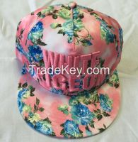 custom cheap snapback caps with printing or embroidery