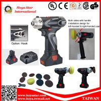 Mini- Tech Industrial Cordless Polisher + Sander